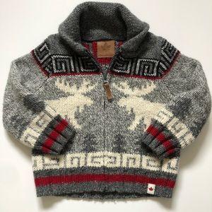 Canadiana Canada Moose Sweater